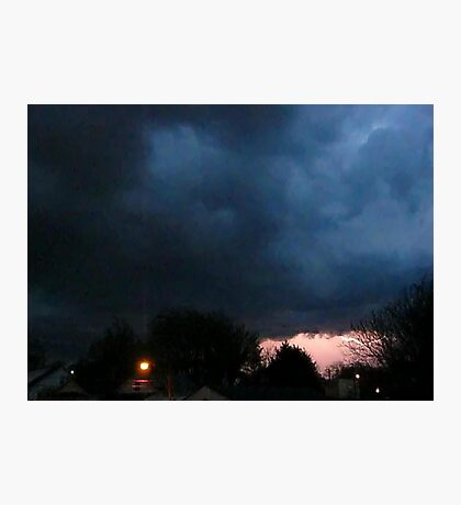Storm Chase 2012 4 Photographic Print