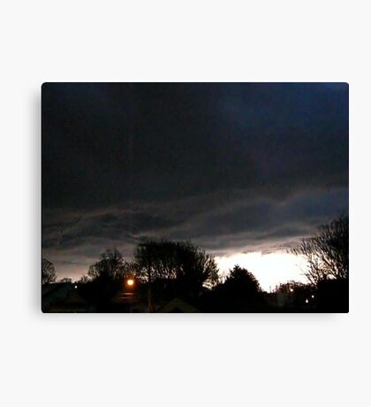 Storm Chase 2012 5 Canvas Print