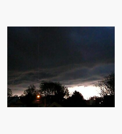 Storm Chase 2012 5 Photographic Print