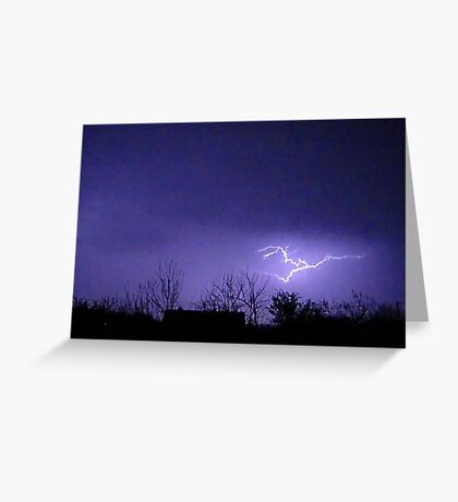 Storm Chase 2012 11 Greeting Card