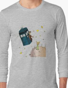 doctor who meets the little princes Long Sleeve T-Shirt