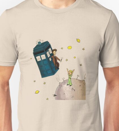 doctor who meets the little princes Unisex T-Shirt
