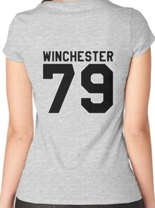 Dean Winchester (Jersey) Women's Fitted Scoop T-Shirt