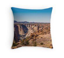 Augrabies canyon Throw Pillow