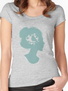 Summer on my Mind Women's Fitted Scoop T-Shirt