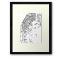 Dream Girl Framed Print