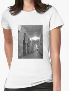 Stunning corridor with arches Womens Fitted T-Shirt