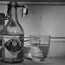 water bottle by Jari Hudd