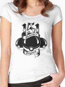 151 - Poke'dex Original (Light) Women's Fitted Scoop T-Shirt