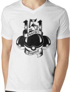 151 - Poke'dex Original (Light) Mens V-Neck T-Shirt