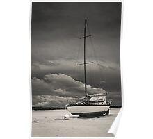 Sleeping Boat Poster