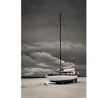 Sleeping Boat Photographic Print