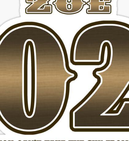 TEAM SERENITY : ZOE Sticker