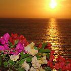 Springtide's Sunset In Yellow - Puesta Del Sol Amarillo En La Primavera by Bernhard Matejka