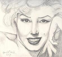 Marilyn Monroe  by April Webb