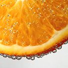 Orange in bubbles by PhotoTamara
