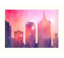 Ethereal Skyline Art Print