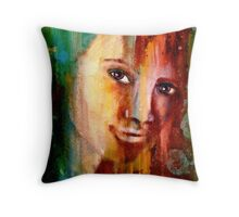 Corrosion 3....Happier Days Throw Pillow