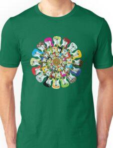 I Love Electric Guitars Unisex T-Shirt