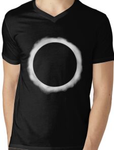 Eclipse  Mens V-Neck T-Shirt