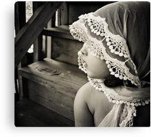 her shawl Canvas Print