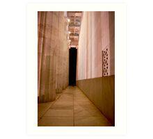 Lincoln Memorial, Washington DC Art Print