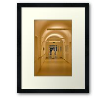 Following Florence Framed Print