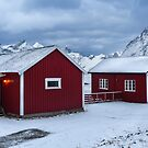 Home In Hamnoy by John Dekker