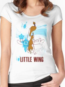 Little Wing Keyblade Women's Fitted Scoop T-Shirt