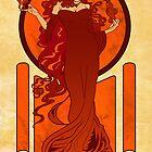 Melisandre of Asshai by Nana Leonti