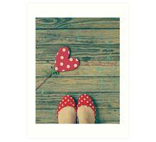 love. [polka-dots] Art Print