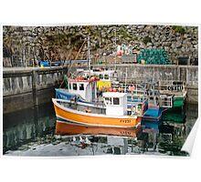 Grimsay Harbour Poster