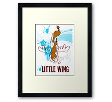 Little Wing Keyblade Framed Print
