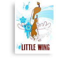 Little Wing Keyblade Metal Print