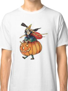 Queen Reaper (Vintage Halloween Card) Classic T-Shirt