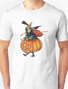 Queen Reaper (Vintage Halloween Card) T-Shirt