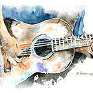 Guitar Riffs by arline wagner