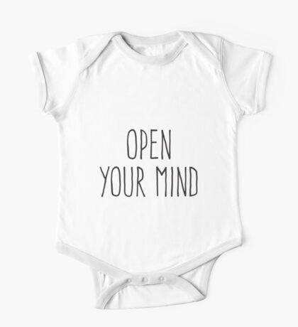 Open Your Mind One Piece - Short Sleeve