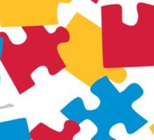 Jigsaw puzzle Sticker
