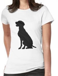 German Pointer Womens Fitted T-Shirt