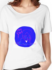 Melting Girl(norm.) White Women's Relaxed Fit T-Shirt