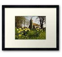 Springtime at Southease Framed Print