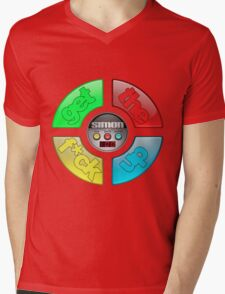 Simon Says Mens V-Neck T-Shirt