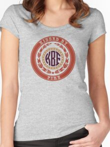 Kissed By Fire Women's Fitted Scoop T-Shirt