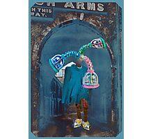 The Incredible Dancing Bear Vacume Salesman.  Photographic Print