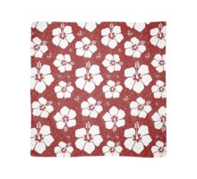 Hibiscus Flower (Burgundy Color) Scarf