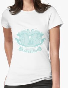 Girls invation lovelyz Womens Fitted T-Shirt