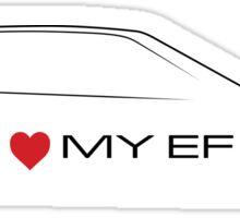 I love my EF Sticker