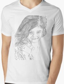 Dream Girl Mens V-Neck T-Shirt