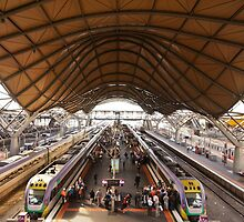 Southern Cross Station by Warren Morgan